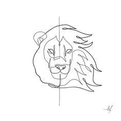 sketch tattoo lion king * sketch tattoo lion & sketch tattoo lion leo & sketch tattoo lion art & sketch tattoo lion king & lion tattoo sketch design & lioness sketch tattoo & lion tattoo sketch for women & lion tattoo sketch ideas Line Drawing Tattoos, Line Tattoos, Tattoo Drawings, Art Drawings, Sketch Tattoo, Sleeve Tattoos, Small Lion Tattoo, Small Tattoos, Lion Tattoo On Thigh