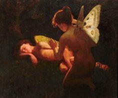 Cupido e Psiche di Middleton Jameson, 1898 #amoreepsiche #enicultura #art