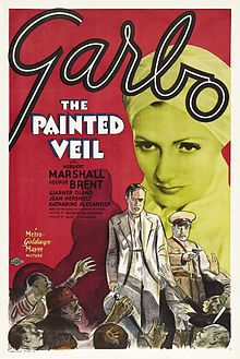 The Painted Veil is a 1934 drama film made by MGM. It was directed by Ryszard Bolesławski and produced by Hunt Stromberg from a screenplay by John Meehan, Salka Viertel, and Edith Fitzgerald, adapted from the 1925 W. Somerset Maugham novel The Painted Veil. The music score was by Herbert Stothart, the cinematography by William H. Daniels, the art direction by Cedric Gibbons and the costume design by Adrian.