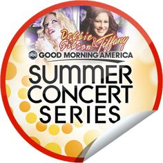 Debbie Gibson & Tiffany on GMA on July 29!... We love the 80s just as much as the next person, that's why we decided to reward GetGlue.com fans with stickers for Debbie Gibson and Tiffany on GMA! Keep on checking-in for more awesome stickers.