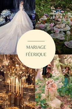 Faites voyager vos invités dans un monde parallèle au thème de la féerie... #wedding #weddingplanner #dream #fairy #fairywedding
