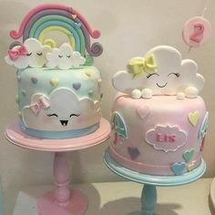trendy Ideas for baby shower cake cute birthday parties Baby Cakes, Baby Shower Cakes, Girl Cakes, Cupcake Cakes, Cake Girls, Pretty Cakes, Cute Cakes, Beautiful Cakes, Amazing Cakes