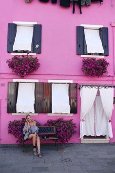 House goals in Burano, venice | Miu Miu sandals, MLM top: http://www.ohhcouture.com/2016/07/monday-update-28/ | #ohhcouture #leoniehanne #ohhvenice