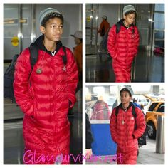 Willow Smith spotted at JFK airport.