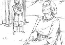 Click to see printable version of Hannah Prays for a Son