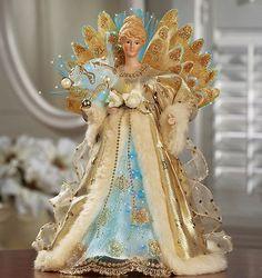 fiber optic porcelain angels details about new fiber optic porcelain angel light up gold and