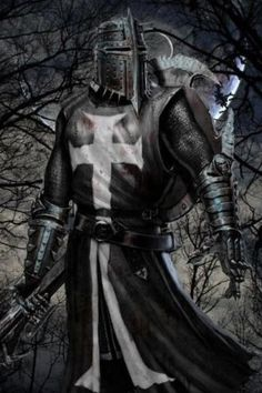 This Knight Is Known To Be Called A Dark Knight ,,, you must ask yourself ,,Does he Fight for Good or Evil,,,, D.H.
