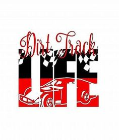 Dirt Track Life Decal - Dirt Track Racing - Racing Sticker - Racing Decal - Dirt Track - Racing Life - Dirt Tracking Racing - Racing - Dirt