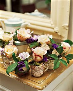 ♫ flowers in tea cups .. X ღɱɧღ ||