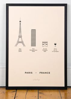 Paris comes in all sizes.