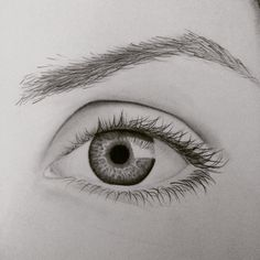 Eye drawing from last night