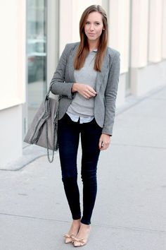 What to wear to work? Casual and Simple Style... #workoutfit #interview…