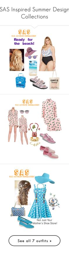 """""""SAS Inspired Summer Design Collections"""" by fashion-designer-alyare on Polyvore featuring Forever 21, Fendi, Sunnylife, Tri-coastal Design, American Retro, Bling Jewelry, ESCADA, Cath Kidston, Kate Spade and Lilly Pulitzer"""