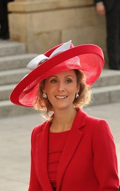 Princess Sibilla of Luxembourg | The 18 Most Amazing Hats At Luxembourg's Royal Wedding