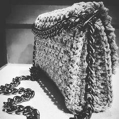 ♢ Crochet shoulder bag
