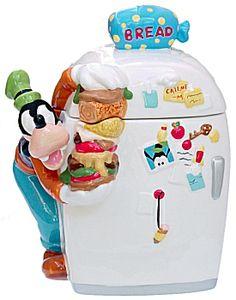 Disney Cookie Jars, Goofy Cookie Jar Mickey Mouse Kitchen, Disney Kitchen, Teapot Cookies, Biscuit Cookies, Disney Dishes, Biscuits, Antique Cookie Jars, Disney Cookies, Vintage Cookies