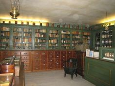 apothecary - need a room like this for our antiques! NK