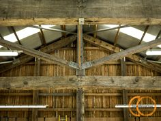 Timber frame detail in outbuilding Types Of Wood, Porches, Restaurant, Detail, Building, Frame, Projects, Home Decor, Wood Types