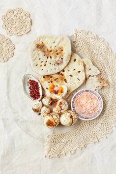 #Lace #flatbreads with #rooibos #tea #boiled #eggs. #foodstyling #foodphotography