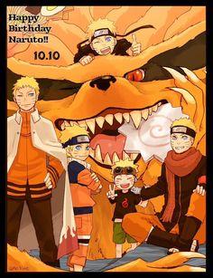 Naruto and Kurama Naruto Minato, Boruto, Naruto Uzumaki Shippuden, Naruto Anime, Wallpaper Naruto Shippuden, Naruto Cute, Naruto Funny, Naruto Wallpaper, Itachi Uchiha