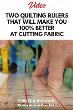 Learn about the Stripology ruler and Shape Cut Pro, two tools for becoming a better fabric cutter. Quilting Rulers, Quilt Binding, Quilting Tips, Quilting Tutorials, Machine Quilting, Quilting Designs, Sewing Tutorials, Sewing Tips, Sewing Ideas