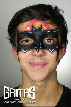 Hombre Murcielago - www.maquillador.eu, ejemplos de maquillaje