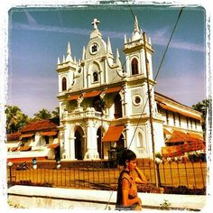 is a village in taluka, and a census town on the central west coast of in the North Goa district of A Passage To India, Goa India, Future Travel, Incredible India, Wonderful Places, West Coast, Notre Dame, The Incredibles, Explore