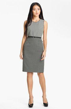 Classiques Entier® Double Jacquard Dress | Nordstrom