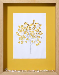 Iincredibly outstanding framed paper art or papercut created by Peter Callesen for your inspiration. The paper sculptures explore the probable and magical Peter Callesen, 3d Paper Art, Paper Tree, Paper Artwork, Paper Crafts, Paper Artist, Kirigami, Paper Cutting, Cut Paper