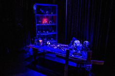 Not only do we do glamours events, we also do spooky ones!  Check out this haunted maze we designed at Motorcity Casino (try not to be too scared) #halloween #hauntedhouse