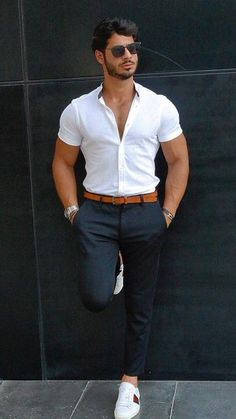 10 Best Casual Shirts For Men That Look Great! – [pin_pinter_full_name] 10 Best Casual Shirts For Men That Look Great! 10 Best Casual Shirts For Men That Look Great! Mode Masculine, Stylish Mens Outfits, Casual Outfits, Casual Guy, Guy Outfits, Smart Casual, Plad Outfits, Casual Fall, Summer Outfits