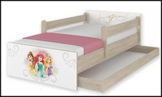 Disney children's bed Princess – Kiddymill Magical Room, Childrens Desk, Mattress Frame, Bed With Drawers, How To Make Bed, Kid Beds, Cot, Kids Bedroom, Toddler Bed