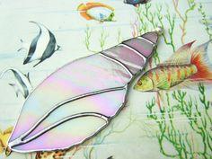 Sea Shells Beach Stained Glass Suncatcher by GothicGlassStudio, $30.00