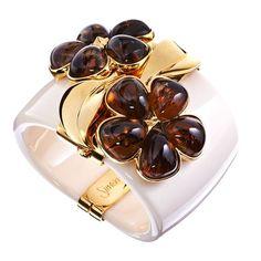 Simon Harrison Chloris Tortoiseshell Cream #bangle @Jewellery4.com