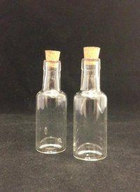 Mini Port Bottle 15mL - With Cork Stopper