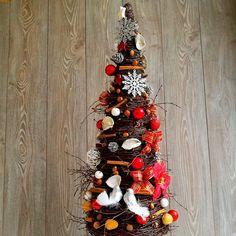 Choinka Świąteczna Czerwień