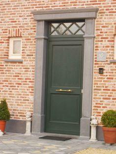 Foto's voordeuren en achterdeuren | Bouwinfo