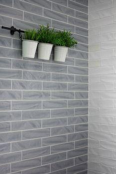 New Yorker By Settecento - Smoke 3 x 12 Glazed Ceramic Tile