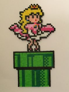 Marilyn Monroe inspired Princess Peach by ThePixelizedPrincess