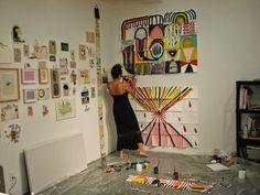 1. Złota myśl:       2. W pracowni artysty:      Julie Torres- strona artystki   3. O sztuce dla dzieci:   Najpiękniejszy plac zabaw jaki wi...