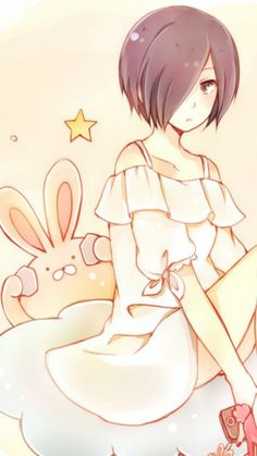 A little too Adorable for Touka~Chan but It's Touka so whatever :b