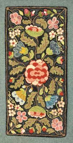 Hooked rug