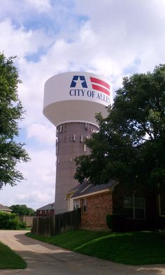 Allen, TX --  I'm thinking the people in this house have water pressure up the ying-yang!