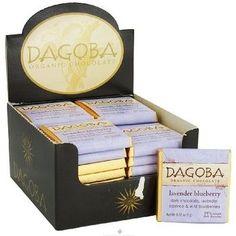 Dagoba Organic Lavender Bluberry Squares (50x9GRAM)