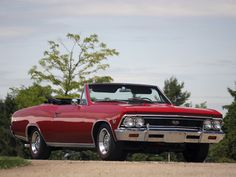 1966 Chevrolet Chevelle SS 396 Convertible.