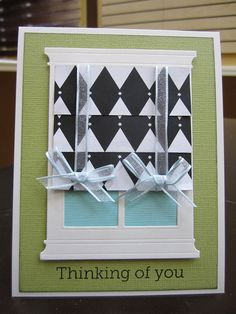 Fabulous Folds- March 2012 by Craft Fancy, via Flickr  Grand madison window