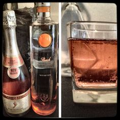 Pink Moscato & Peach Ciroc Sounds yummy too bad I can't drink anymore Cocktails, Party Drinks, Cocktail Drinks, Fun Drinks, Cocktail Recipes, Pink Moscato, Moscato Champagne, Liquor Drinks, Food Porn