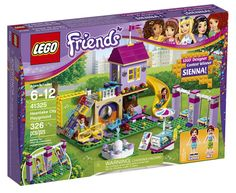 41325 Heartlake City Playground : le set LEGO Friends imaginé par Sienna: En décembre 2016, LEGO lançait un concours qui faisait… #LEGO