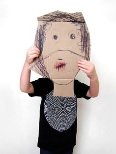 #DIY Kid-Made #Mask