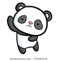Panda Love, Cute Panda, Bride And Groom Cartoon, Boyfriend Goals Relationships, Cute Easy Drawings, Silhouette Cameo, Hello Kitty, Sticker, Clip Art